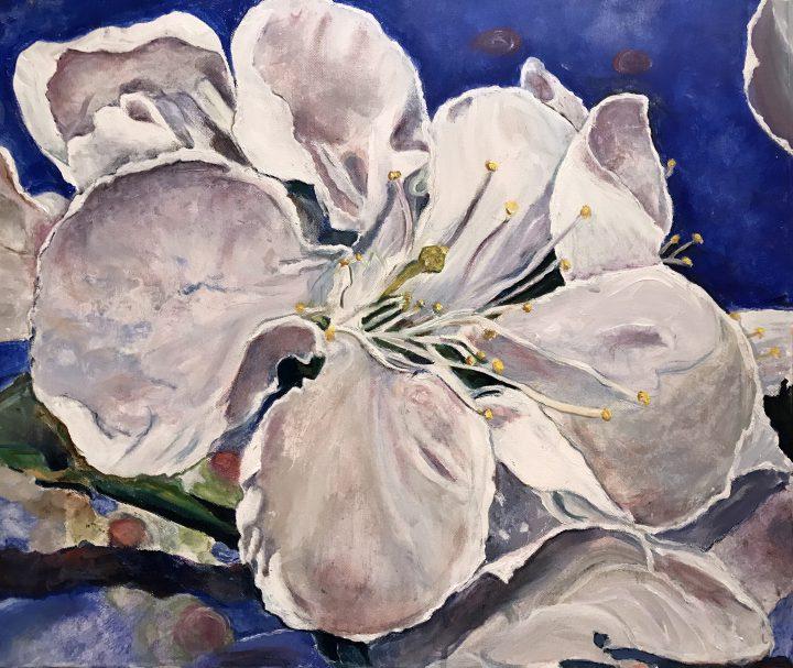 """""""Floral"""", acrylic"""