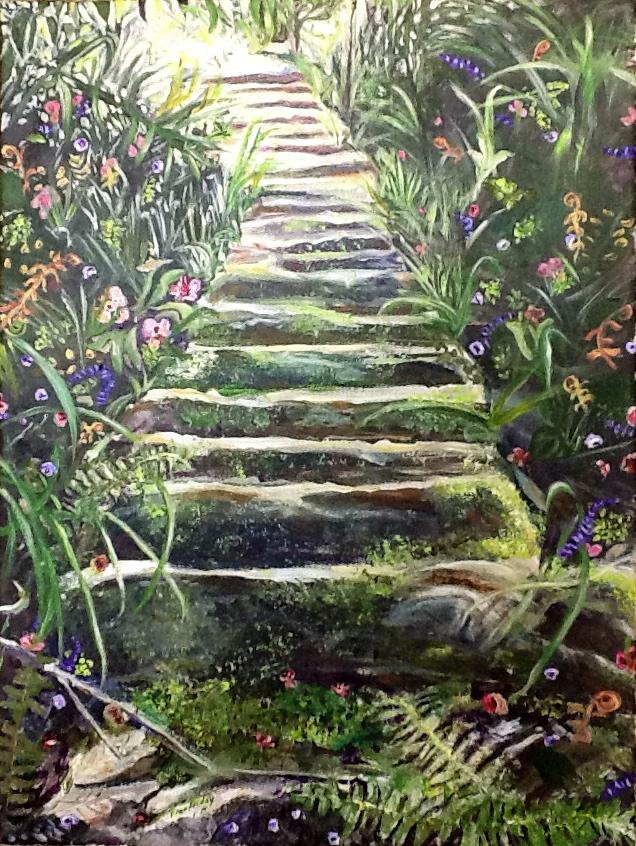 """Journey"", acrylic, 18x24"