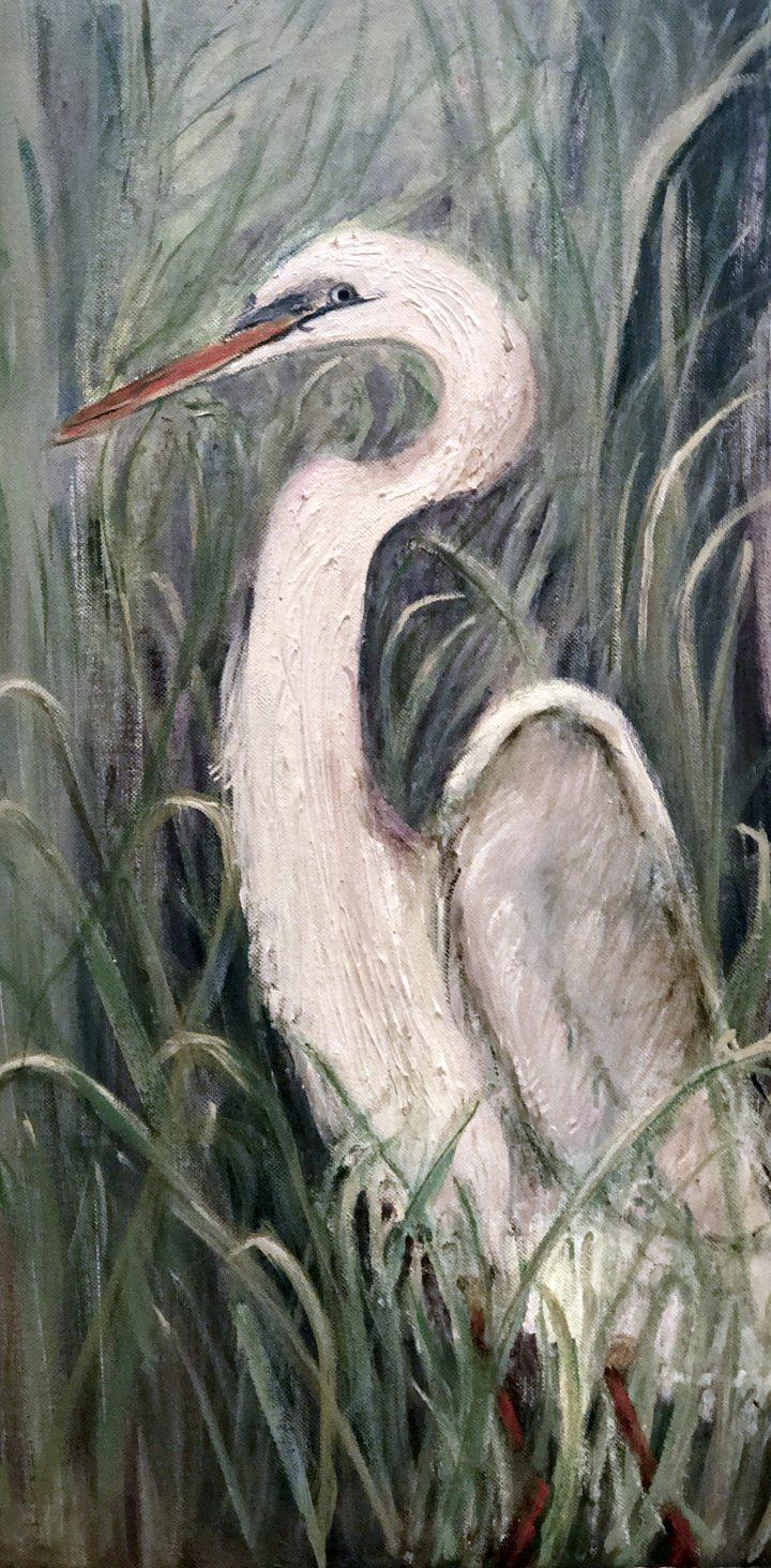 """Seabird"" acrylic"