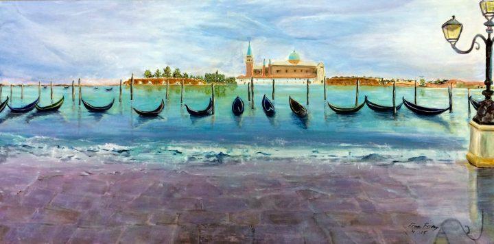 """""""Venice"""", acrylic, 24x48"""
